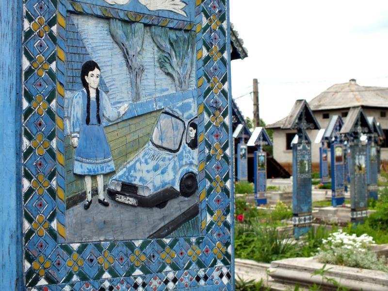 Cimitirul vesel Sapanta3