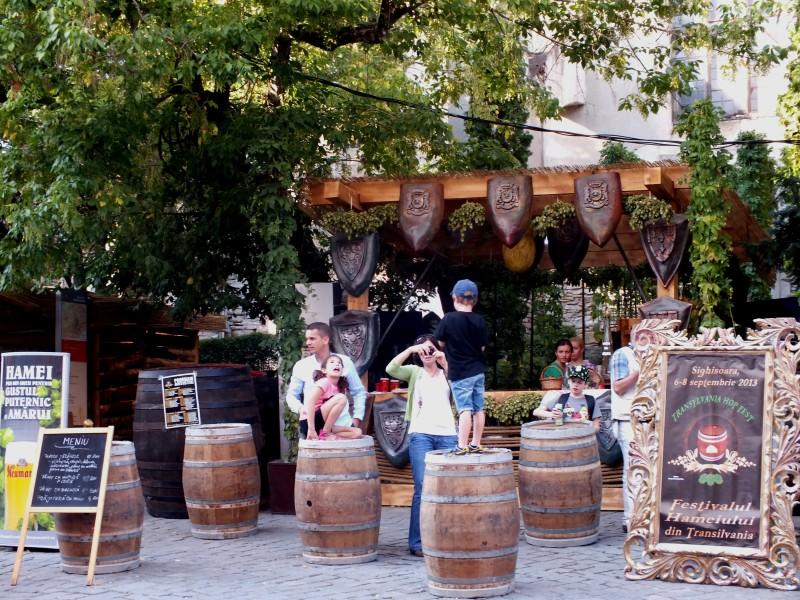 Sighisoara festivalul hameiului
