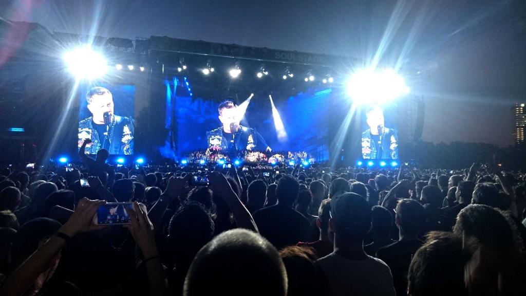 Rock in Vienna Metallica 2015